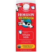 Horizon Organic Whole Milk - 0.5 Gal