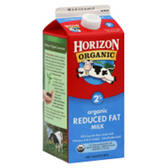 Horizon Organic 2% Milk - 0.5 Gal