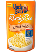 Uncle Ben's Ready Rice - Butter & Garlic -8.8oz