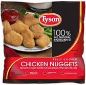 Tyson Frozen Chicken Nuggets -2.5 LB