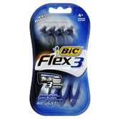 Bic Shavers Flex 3 - 4 Count