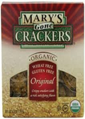 Mary Gone Crackers - Original Crackers -6.5oz