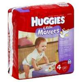 Huggies Supreme Little Movers Diapers Size 4 - 112pk
