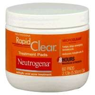 Neutrogena Rapid Clear Acne Treatment Pads 60 Count Memorial