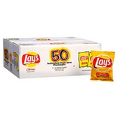 Lay's Classic Potato Chips - 50 Ct