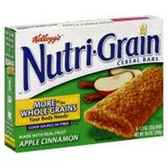 Kellogg's Apple Cinnamon Nutri-Grain -6 pk
