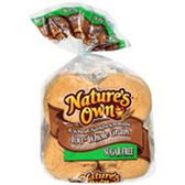Nature's Own Hamburger Buns -8 ct