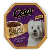 Cesar Fillet Mignon With Gravy Dog Food - 3.5 Oz