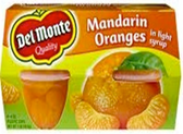 Del Monte - Mandarin Oranges in Light Syrup -4ct