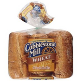 Cobblestone Mill Wheat Sub Rolls -6 ct