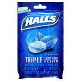 Halls Ice Blue Cough Drops - 30 Count