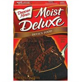 Duncan Hines Moist Deluxe Devils Food Cake Mix -18.25 oz