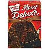 Duncan Hines Moist Deluxe Devils Food Cake Mix -18.25 oz