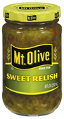 Mt Olive Sweet Relish -8 oz