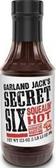 Garland Jack's Secret 6 - Squealin' Hot Barbecue Sauce -18oz