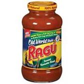 Ragu Old World Style Sweet Tomato Basil Spaghetti Sauce - 26 oz