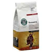 Starbucks Sumatra Ground Coffee 12 oz
