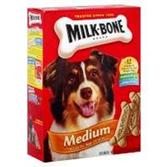 Milk Bone Dog Treats Dog Biscuits Medium - 24 Oz