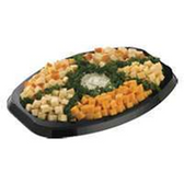 Cubed Cheese Party Tray -  20-25 Servings