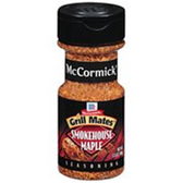 McCormick Grill Mates Smokehouse Maple Seasoning-3.5 oz