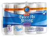 Store Brand Papper Towels - 8 Regular Rolls