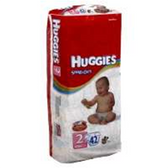 Huggies Snug N Dry Diapers Size 2 - 100 pk