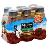 Minute Made Apple Juice  To-Go, 6 pk