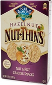 Blue Diamond Nut-Thins - Nut & Rice (Hazelnut) -4.25oz