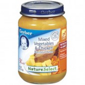Gerber  Baby 3rd Food Mixed Vegetables & Chicken