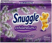 Snuggle Exhilarations - White Lavender & Sandalwood Sheets -70ct