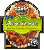 Richard's Cajun Favorite Single Serve Bowls - Shrimp Etouffee