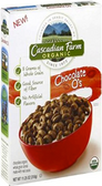Cascadian Farm Organic Chocolate O's -10.2oz