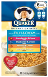 Instant Oatmeal - Fruit & Cream -11.5oz