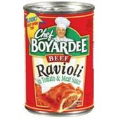 Chef Boyardee Tomato & Meat Sauce Beef Ravioli - 15 oz