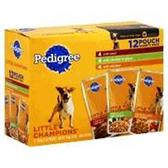Pedigree Little Champions Variety Pack Dog Food - 8-5.3Oz
