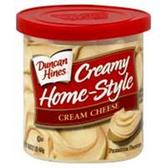 Duncan Hines Creamy Home-Style Cream Cheese -16oz