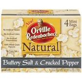 Orville Redenbacher's Buttery Salt & Cracked Pepper Popcorn-4 pk