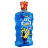 Act Spongebob Anti Cavity Rinse Oceanberry - 16.9 Oz