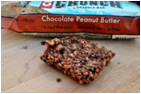 Cliff Crunch Bar - Chocolate Peanut Butter -5 bars