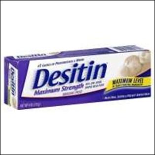Desitin Diaper Rash Ointment - 4 oz - Memorial Concierge, LLC