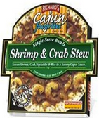 Richard's Cajun Favorite Single Serve Bowls - Shrimp & Crab Stew