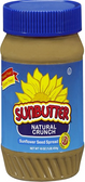 Sun Butter Sunflower Seed Spread - Crunchy -16oz