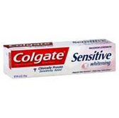 Colgate Sensitive Plus Whitening Fresh Stripe Toothpaste - 6 Oz