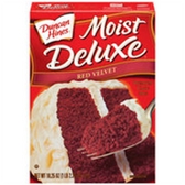 Duncan Hines Moist Deluxe Red Velvet Cake Mix-18.25 oz