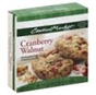 Central Market Cookie Dough Cranberry Walnut -22oz