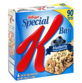 Kellogg's Special K Blueberry Cereal Bar -6 pk