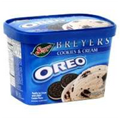 Breyers Parlor OREO Ice Cream -1.5 qt