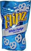 Flipz White Fudge Covered Pretzels -5oz