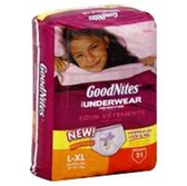 GoodNites Underwear Girl L-XL