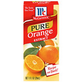 McCormick Specialty Extracts Pure Orange Extract -1 oz
